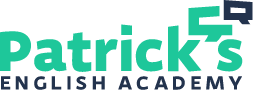 Patrick's English Academy Logo