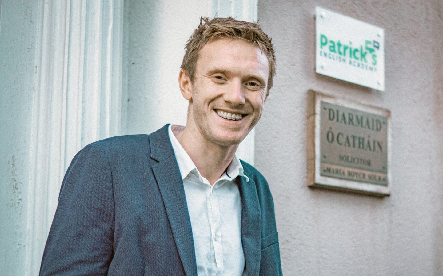 Patrick McCarthy, Owner of Patrick's English Academy